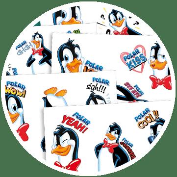 Polar Emoticon 2018
